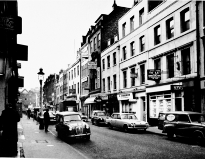 Gerrard Streeet 1965 - View looking west.jpg. Click on the picture to enlarge