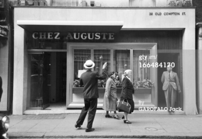 38 Old Compton Street 1956 - Chez Auguste.jpg