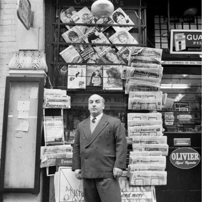 48 Old Compton Street 1961 December -Tony Abbro, Abbro and Varriano, newsagents.jpg